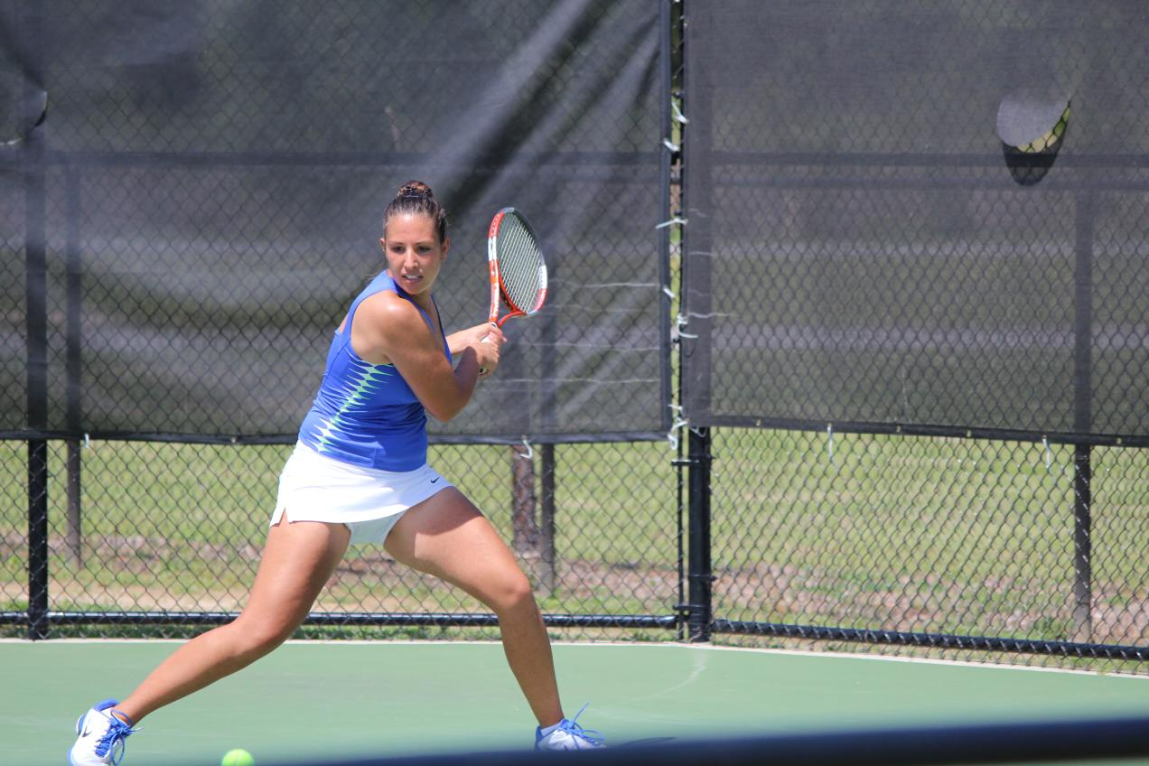 No. 5-Seed GC Women's Tennis Battles No. 1-Seed Armstrong, Falls 5-0