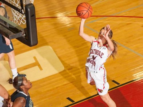 Lady Cardinals Advance to ECAC Championship