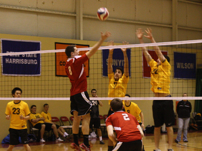 MEN'S VOLLEYBALL DROPS INAUGURAL MATCH TO SUNY IT