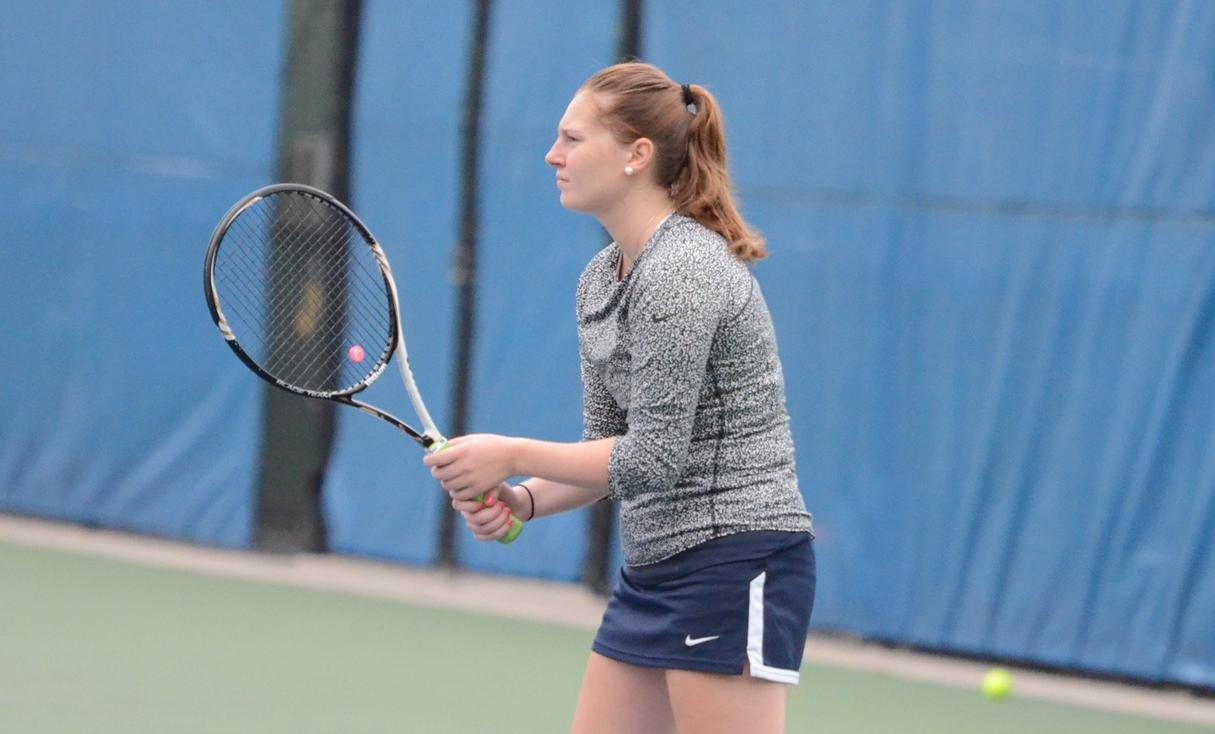Women's Tennis Edges Defending Champion Yeshiva in Opener