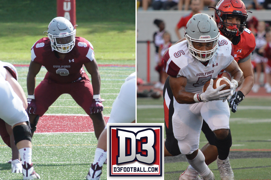 Guilford's De'Eric Bell and Bryce Smith Named to All-South Region Teams