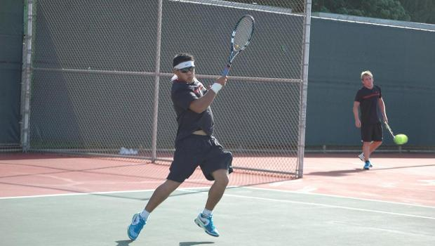 Tennis downed at PacWest tourney
