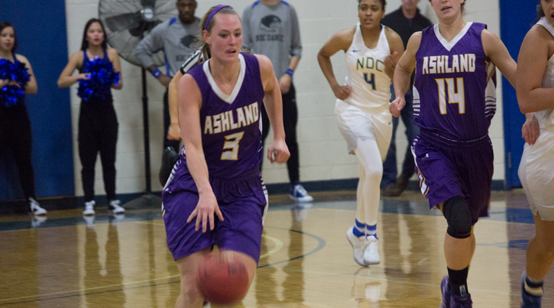 Top-Ranked Ashland Women Beat Bulldogs, Move To 12-0