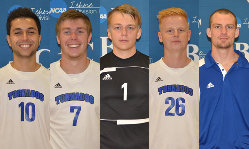 Five seniors will be honored prior to the match