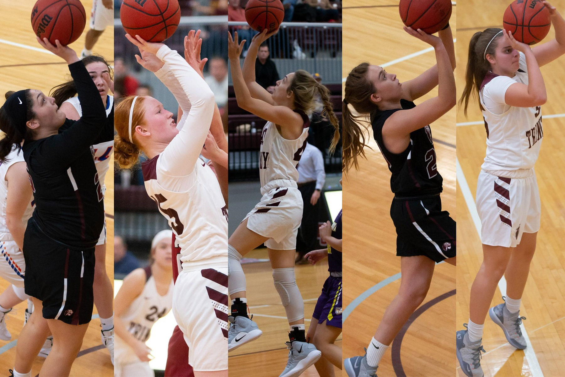 Five Trinity Women's Basketball Players Earn All-SCAC Honors