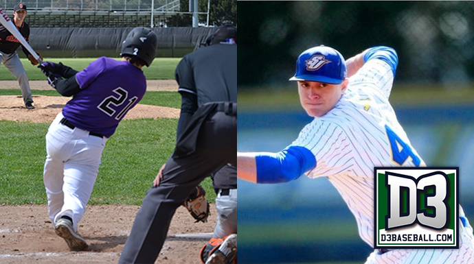 Pair of SLIAC Players Named to D3baseball.com Team of the Week