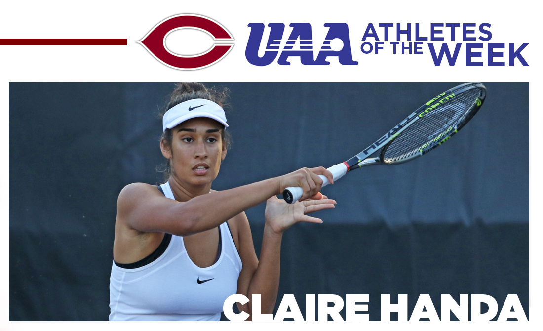 Claire Handa Receives Fourth UAA Athlete of the Week Award