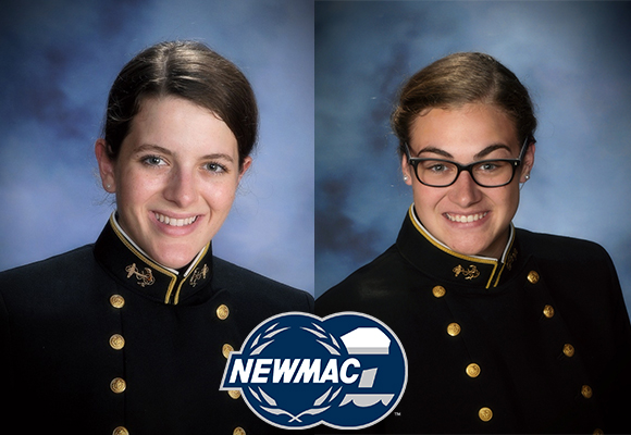 Harkrader, Morello Named to NEWMAC Women's Swimming All-Academic Team