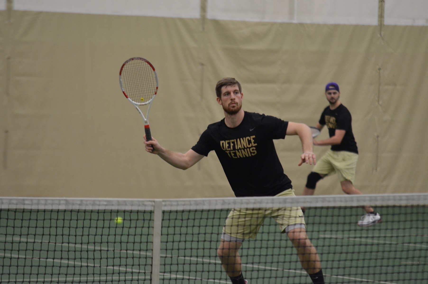 Men's Tennis Falls to Baldwin Wallace