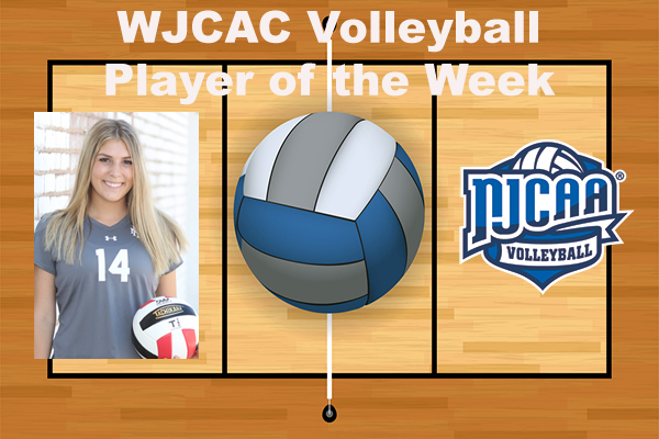 WJCAC Volleyball Player of the Week (Sept. 11)