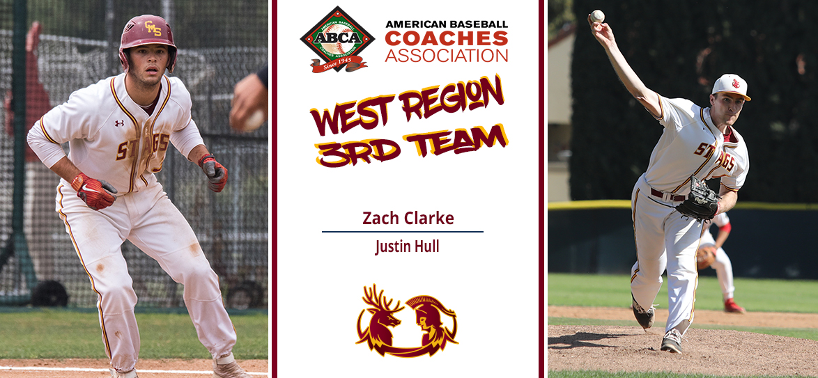 Justin Hull, Zach Clarke Named to ABCA West Region Third-Team