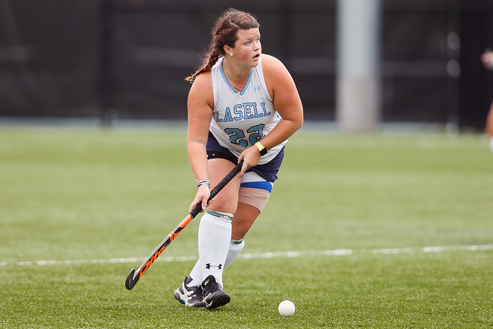 Lasell Field Hockey upends Anna Maria for fifth straight victory