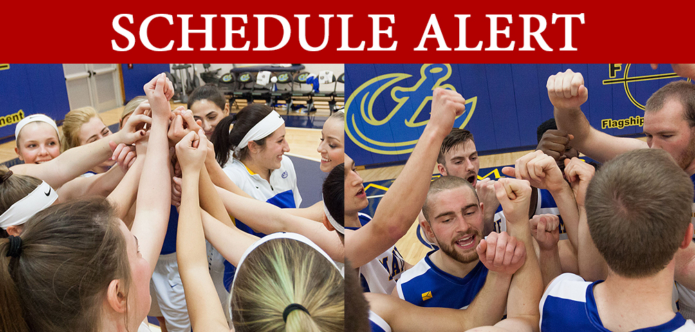 SCHEDULE ALERT: Start Times For Saturday's Basketball Doubleheader Pushed Back