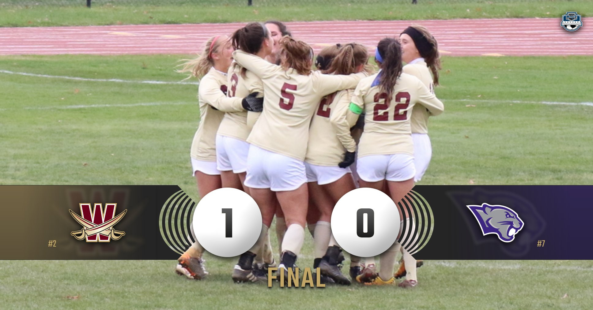 Peters Lifts Cavaliers to G-MAC Semifinal, 1-0