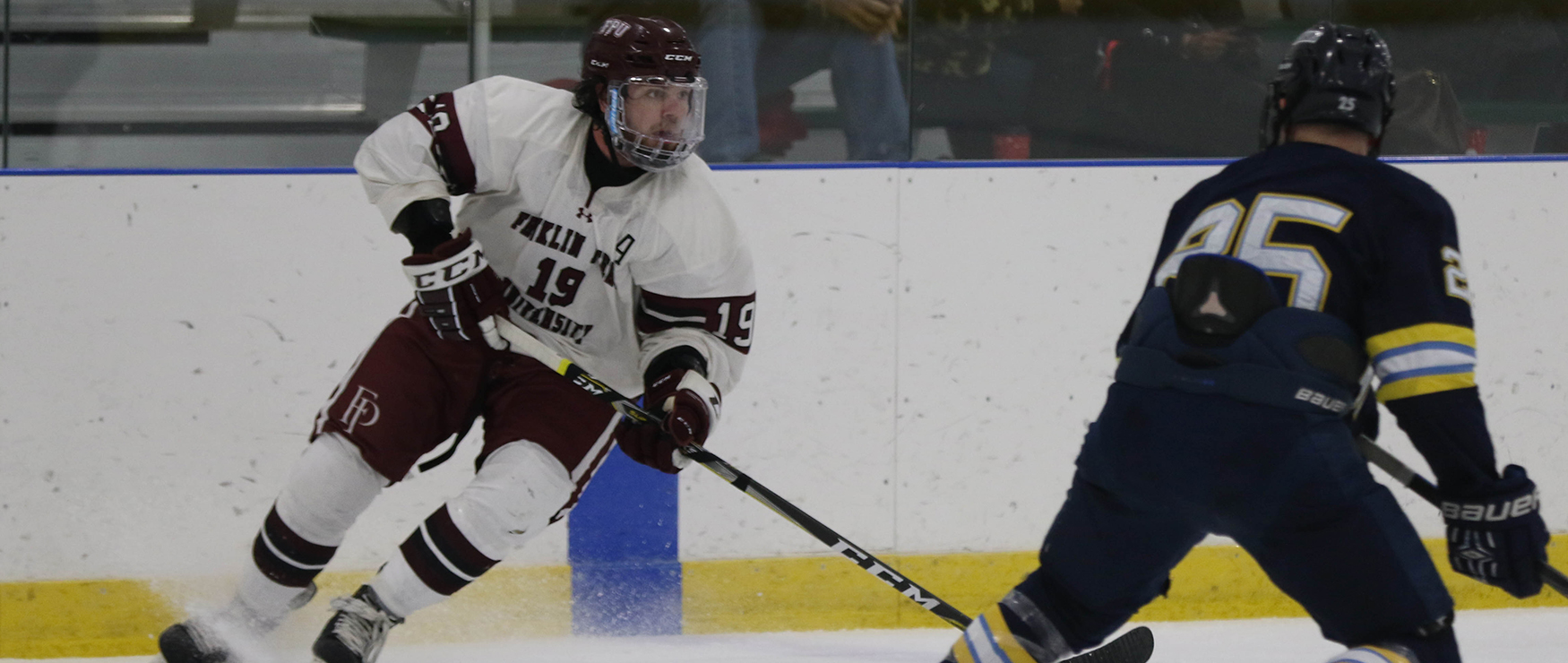 Men's Ice Hockey Falls to Westfield State, 4-1