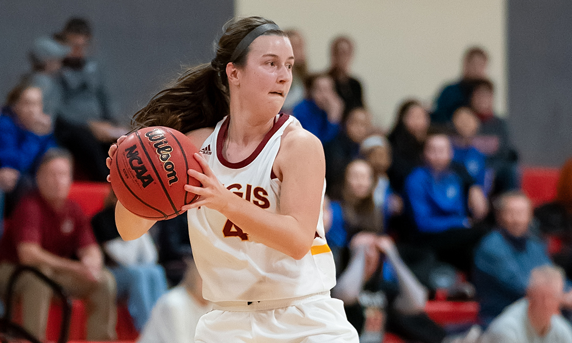Women's Hoop Earns Key Road Conference Victory