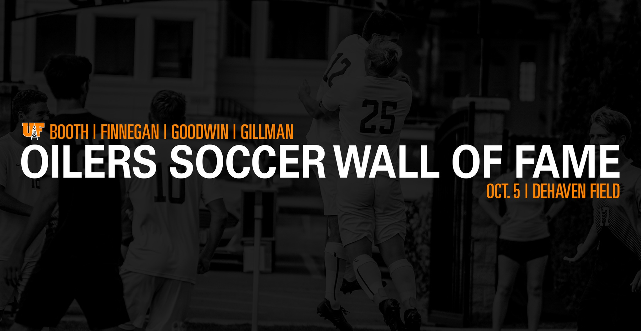 Oilers Soccer Wall of Fame Scheduled for Oct. 5
