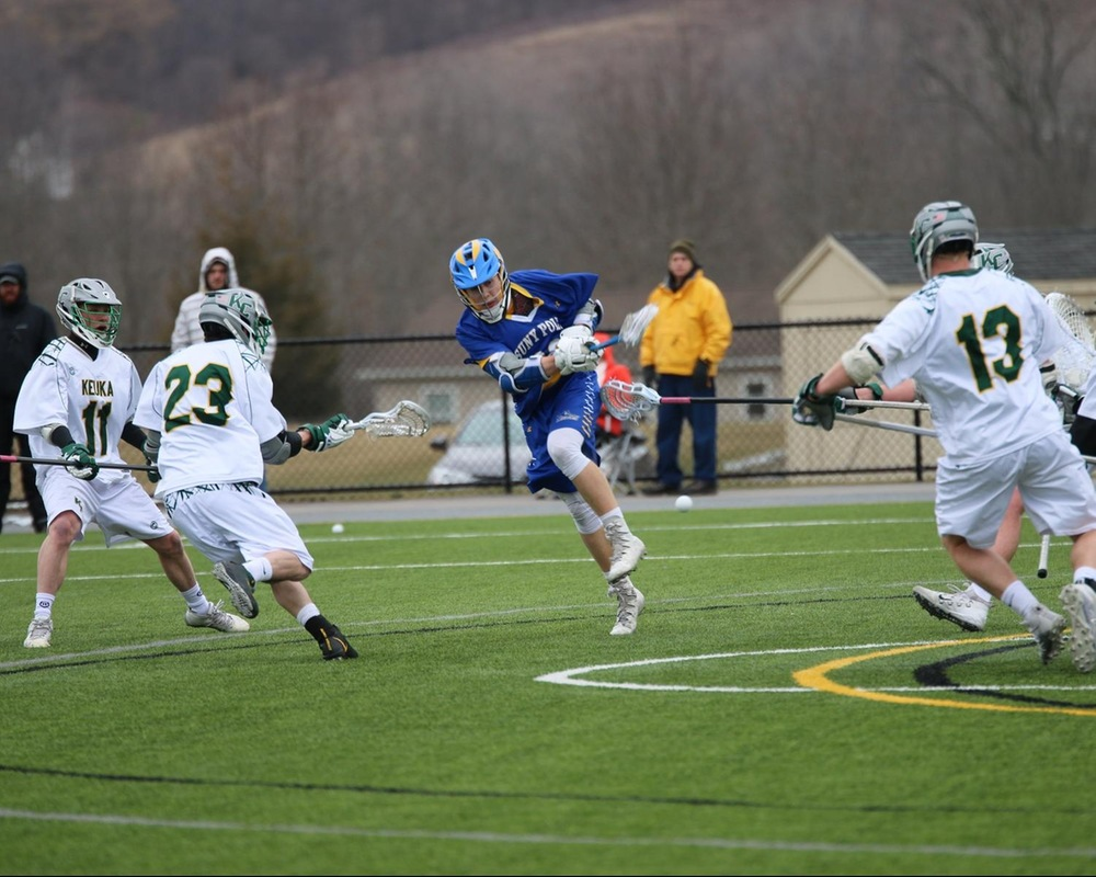 MLAX: Career Day For Rosaschi Leads Wildcats to a 16-13 Win Over Canton.