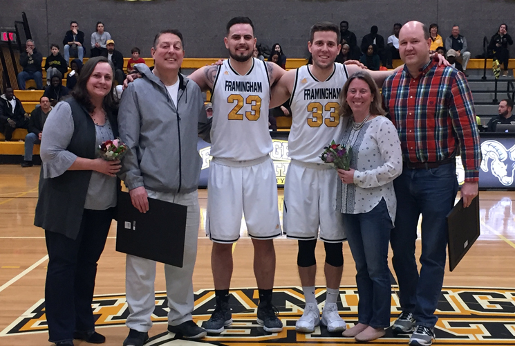 Bridgewater Holds on for 69-64 Win Over Men's Basketball on Senior Day