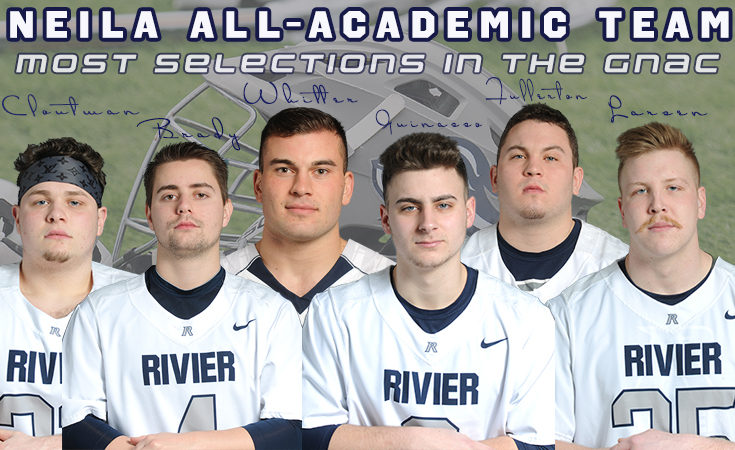 Men's Lacrosse: Six Raiders selected to NEILA All-Academic Team