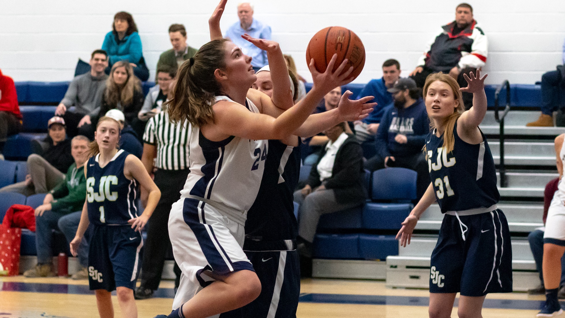 Women's Basketball Cruises to Season Sweep of SJC Long Island