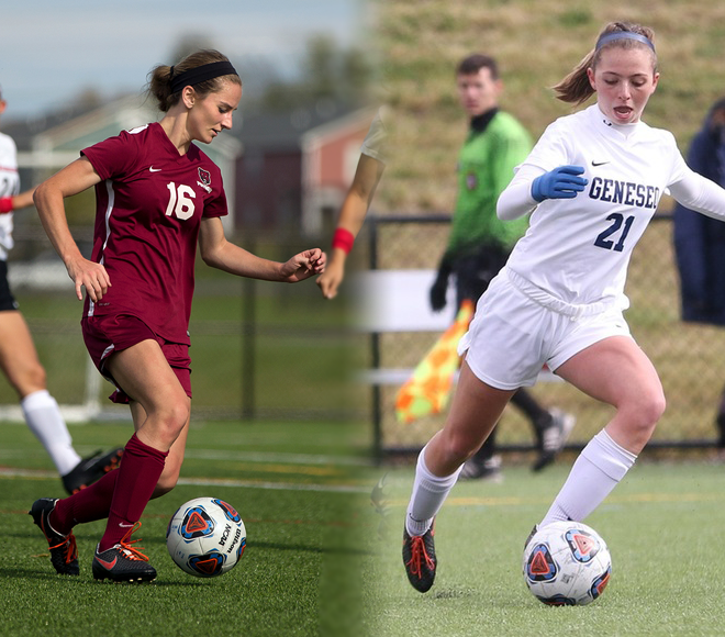 Falsion and Walsh take Women's Soccer Athletes of the Week honors