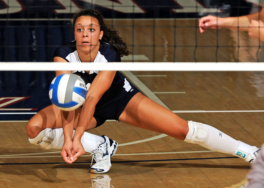 Volleyball's Johnson Named A-Sun Scholar Athlete of the Year