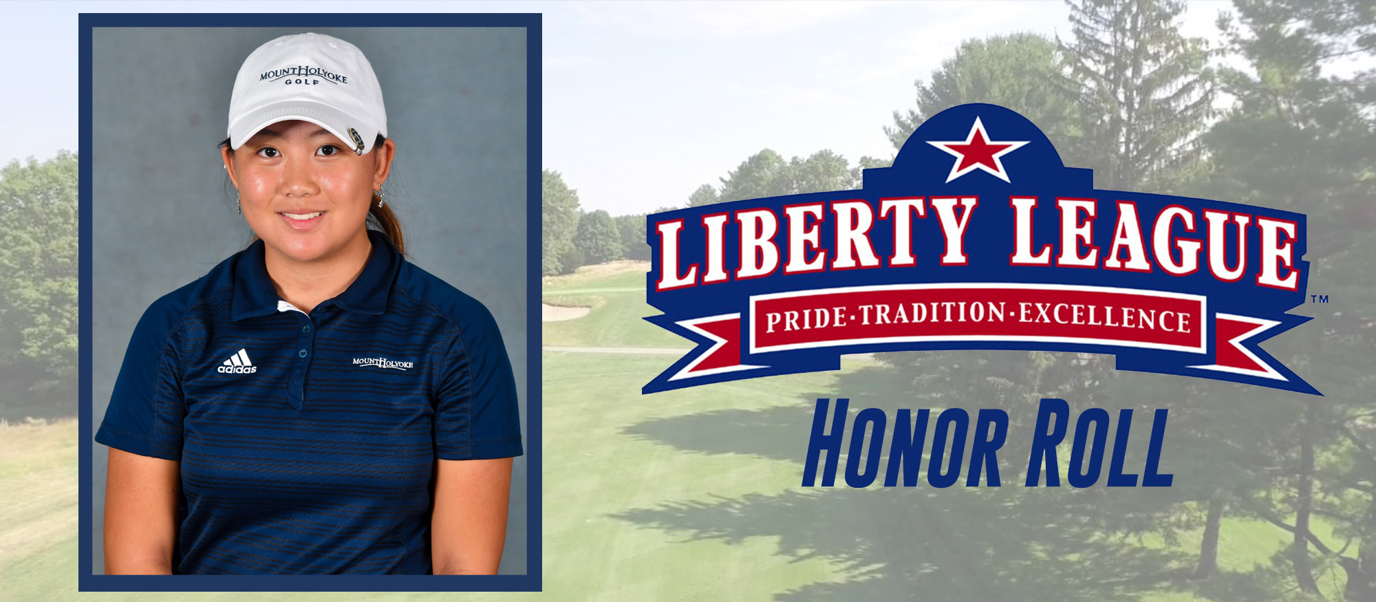 Qiu Selected to Liberty League Women's Golf Honor Roll