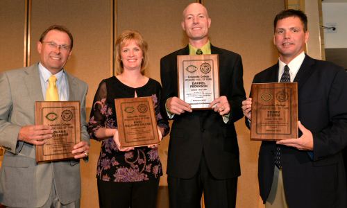 Four Inducted Into Athletic Hall Of Fame