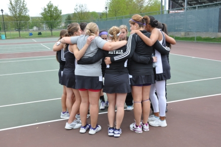 The University of Scranton women's tennis team will open Landmark Conference play on Sunday at 1 p.m. at Juniata. The men's teams for both schools will also open Landmark Conference play on Sunday at 1 p.m. at Juniata.