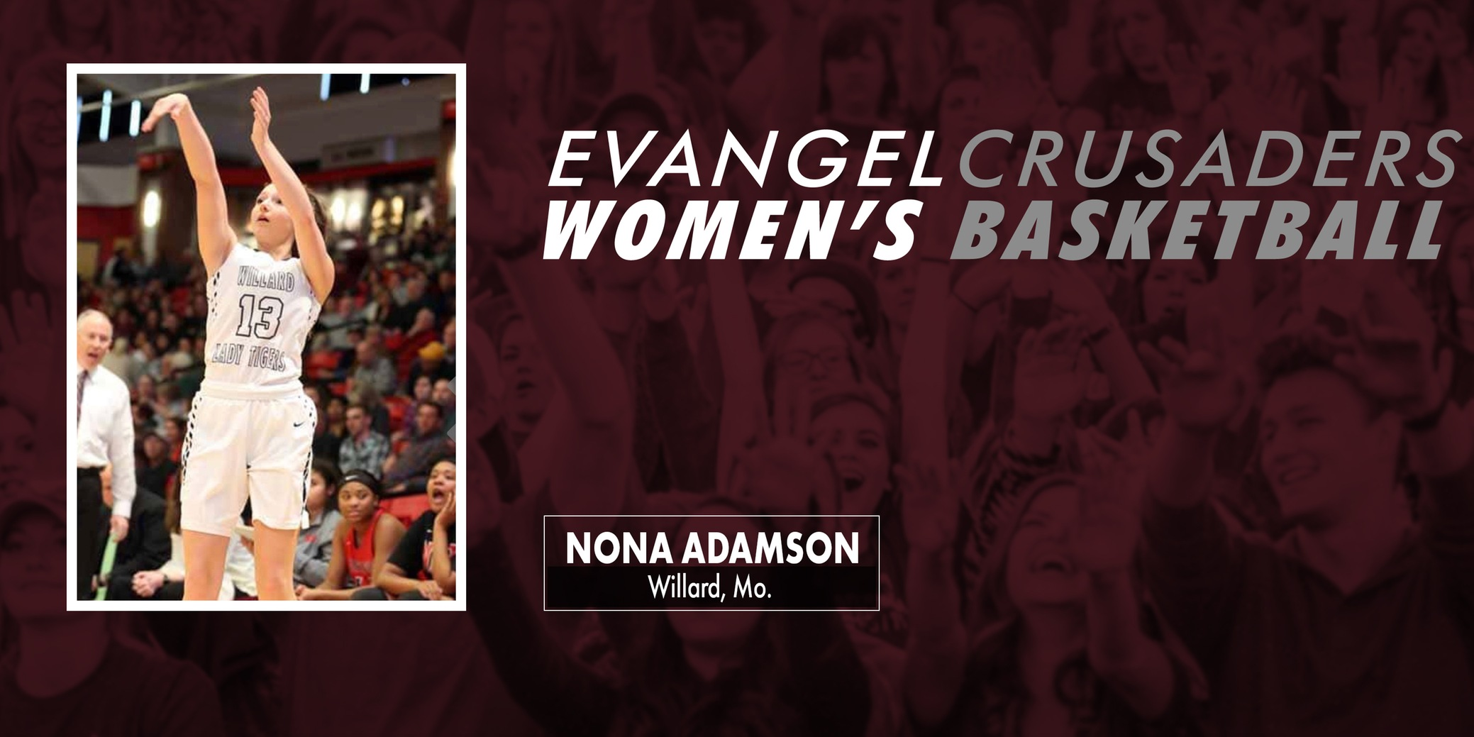 Nona Adamson Signs With Evangel Women's Basketball