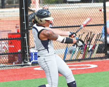 Faafiti hits inside-the-park home run as Bison drop NEAC doubleheader