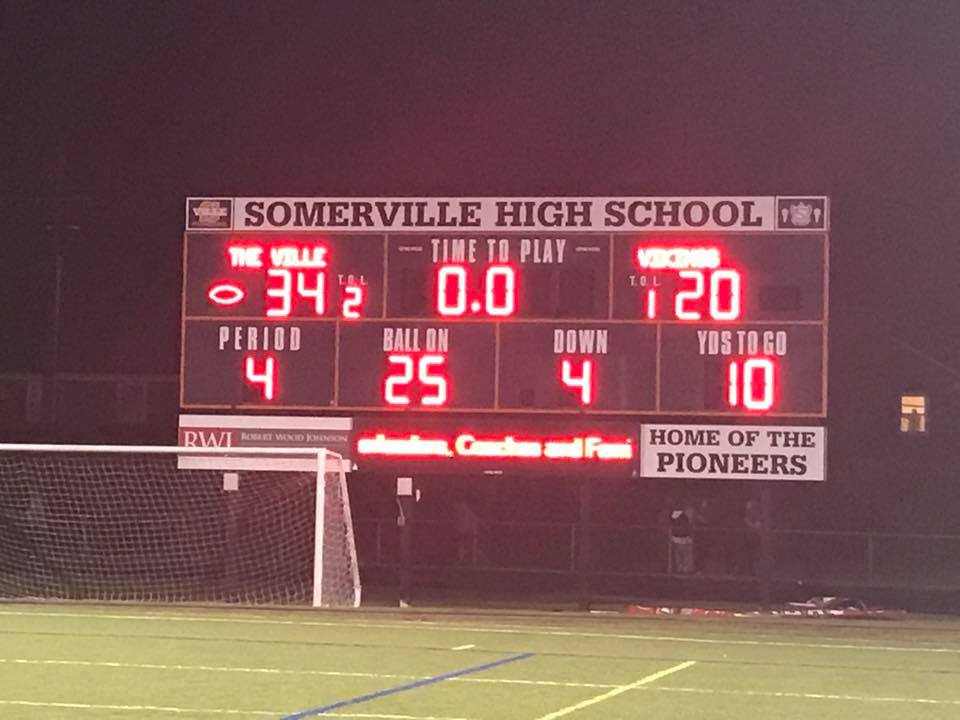 The Ville Improve To 3-0 With Win Over Voorhees