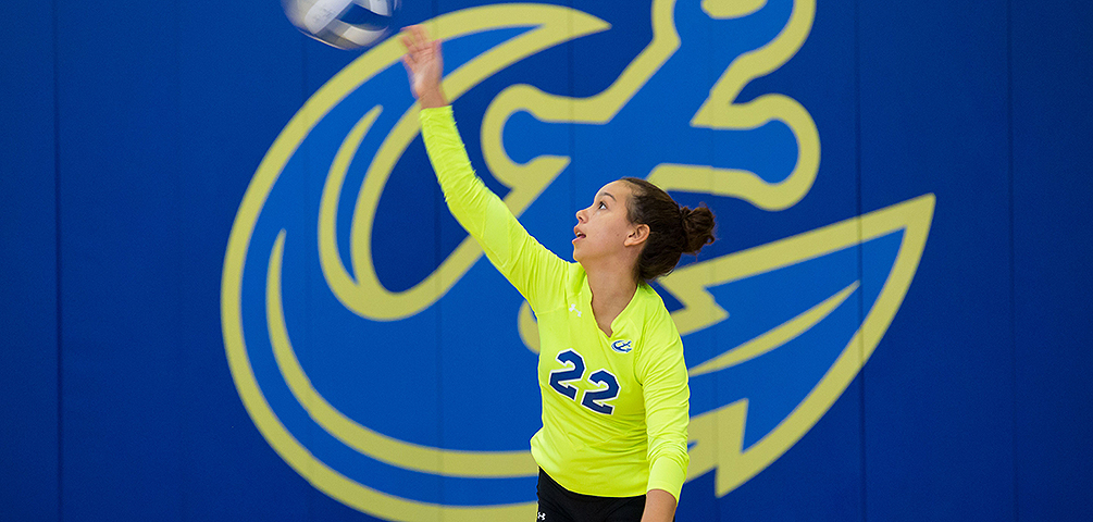 Volleyball Opens up 2018 with Win Over Southern Maine
