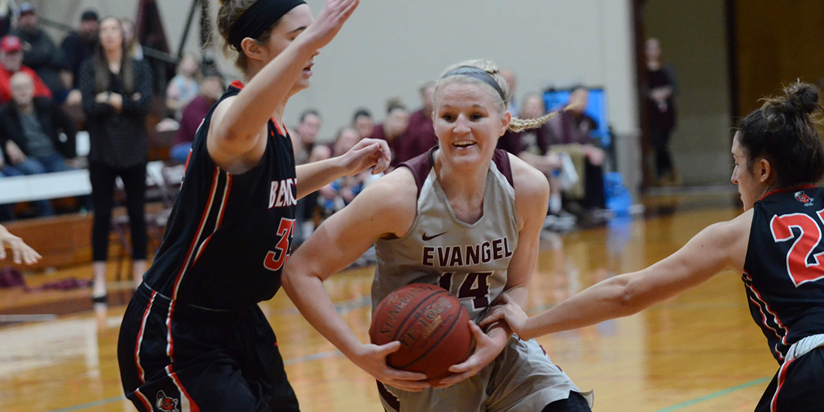 Evangel Women Carry Three Game Win Streak to (RV) Benedictine in Midweek Clash