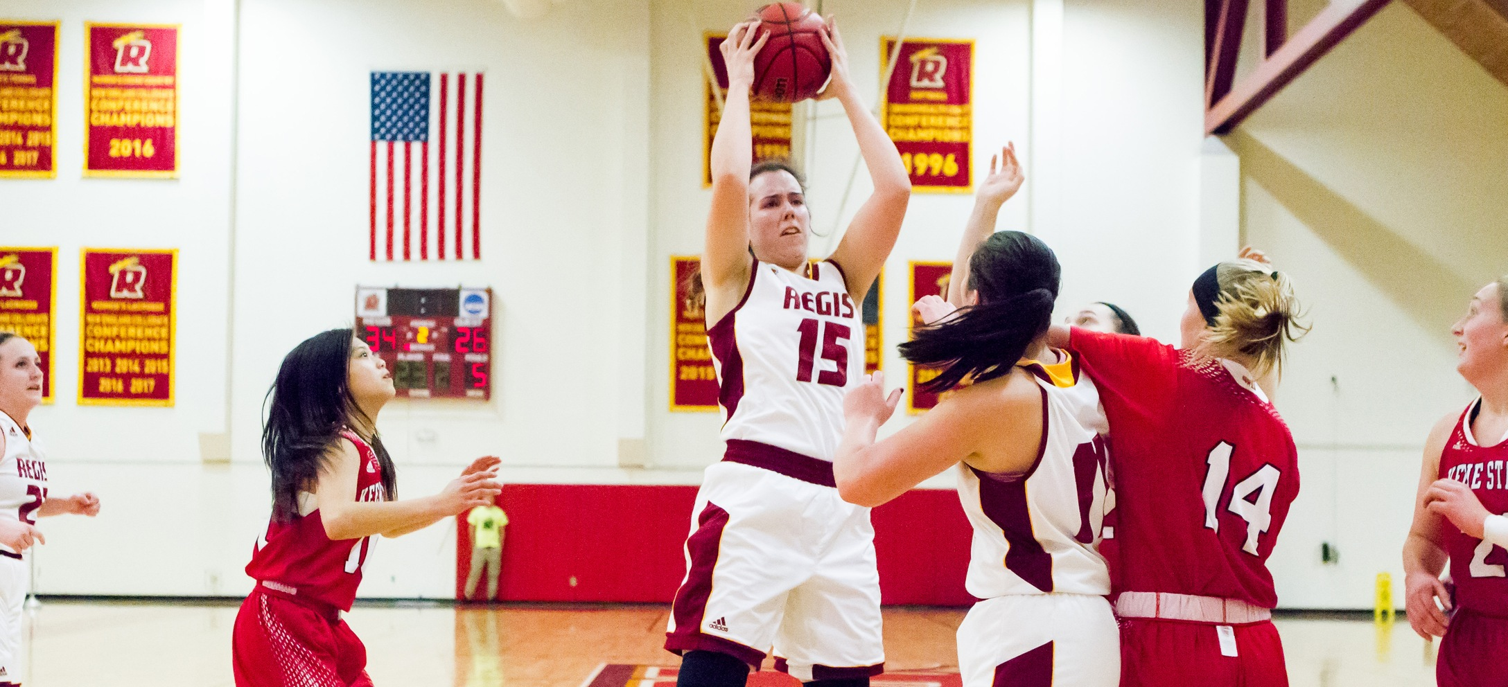 Women's Basketball Takes Down Albertus Magnus In GNAC Opener