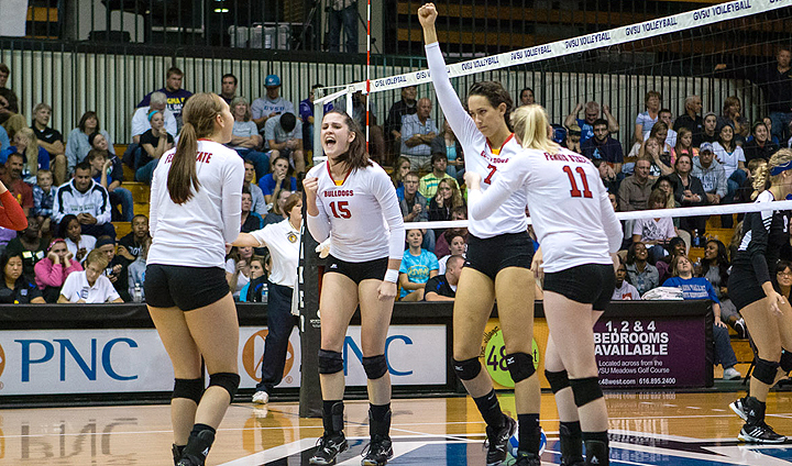 Volleyball To Face Two Ohio Schools In Weekend League Play