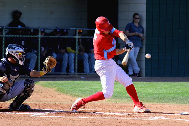 Jordan Zimmerman crushes a two-run homer in the first (Photo by Aaron Webster)