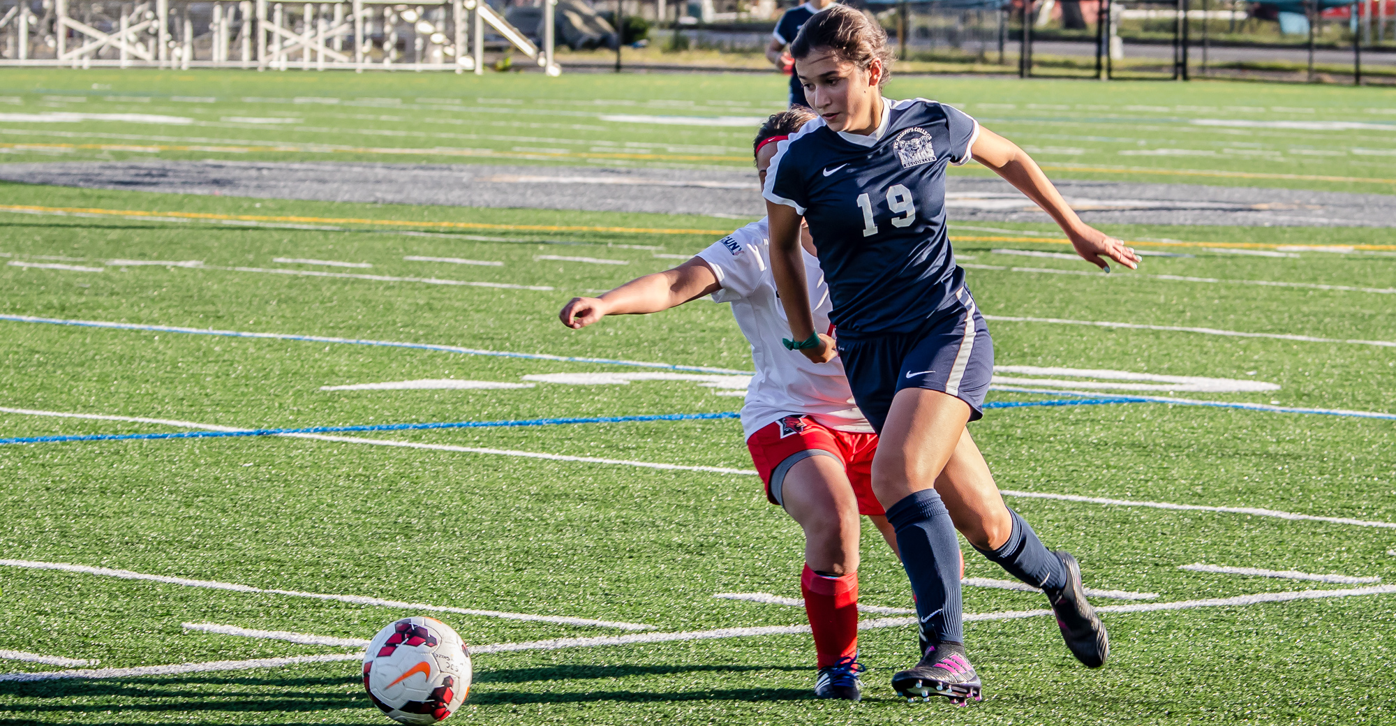Sequeira and Molic Nab Hat Tricks as Women's Soccer Downs Valley Forge for Third Straight Win