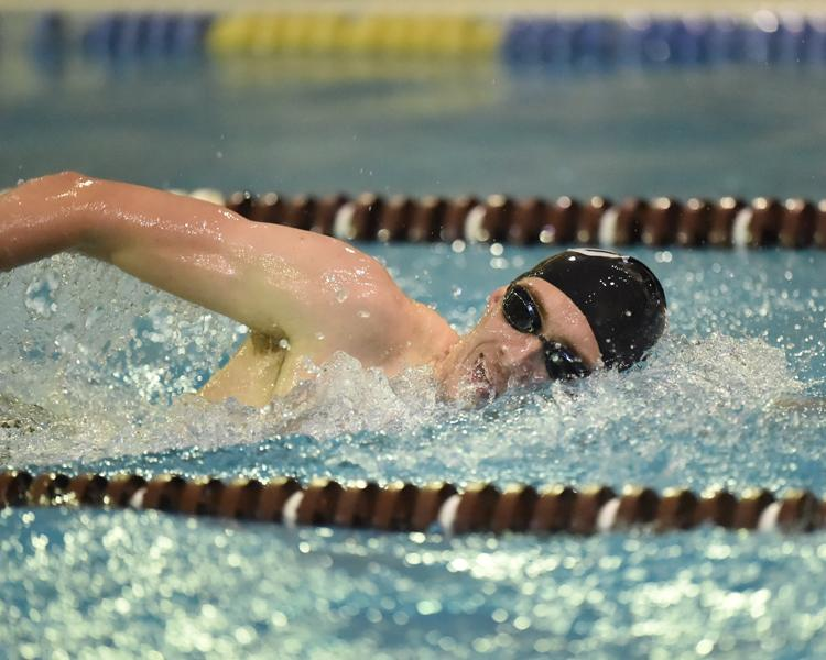 @BonniesMSwim Ends Day One at A-10 Quad Meet