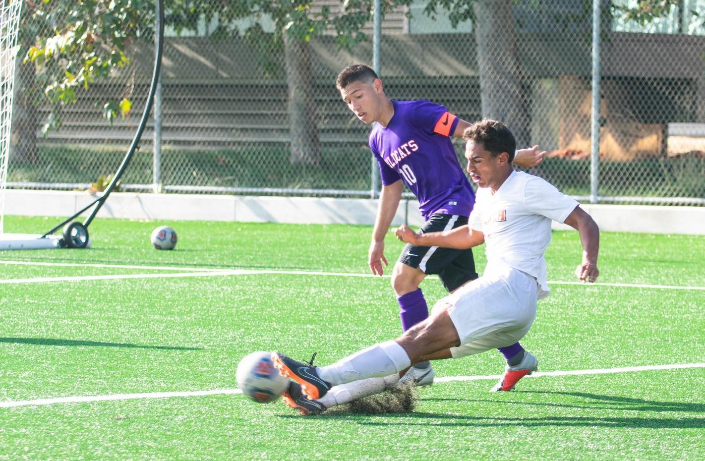 Men's Soccer Contends with Pomona-Pitzer
