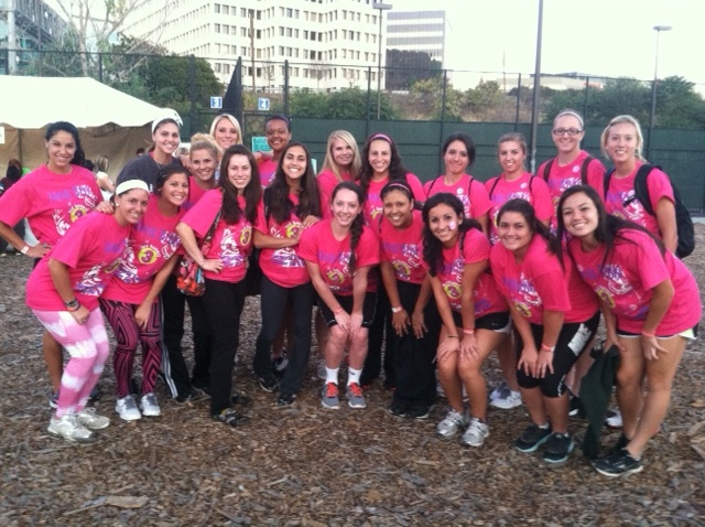SCU Softball Raises and Donates $2,300 to the Leukemia & Lymphoma Society