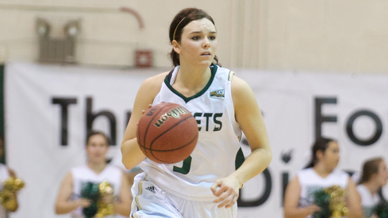 WOMEN'S BASKETBALL OUTLASTS PORTLAND STATE 84-80