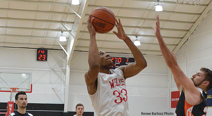 Men's Basketball Runs To Win At Wilson College