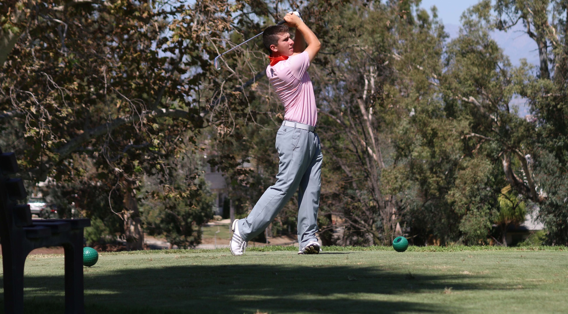 Leopards tie for first at SCIAC No. 1, Hussein best individual