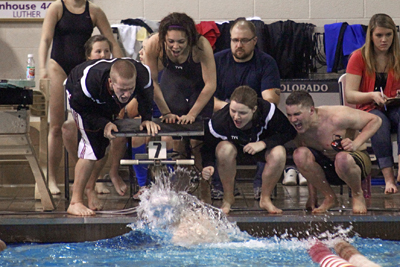 Storm swim teams turn heads at Liberal Arts Championships