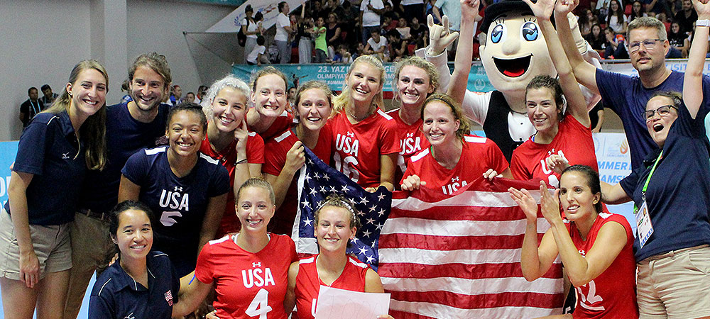 2017 Team USA Deaf Women's Volleyball Team at the Deaflympics