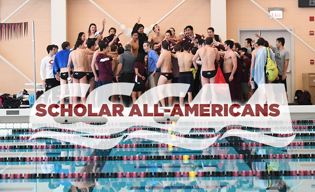 UChicago Swimming & Diving Teams and 16 Individuals Net CSCAA Scholar All-America Awards