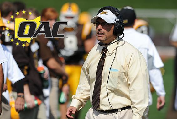 BW Football Team Picked Fifth in OAC Preseason Polls