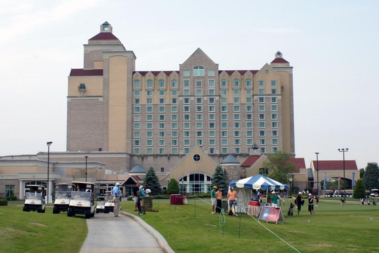The Grandover Resort & Spa in Greensboro, North Carolina, has hosted the NCAA Division III Men's Golf Tournament in 2011, 2014, 2015, and 2018.